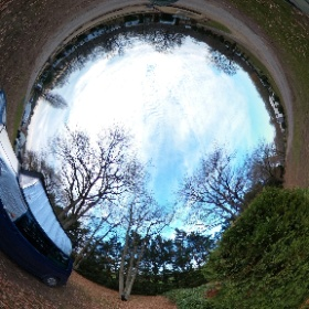 Last night at Camping les Acacias, near Tours #theta360