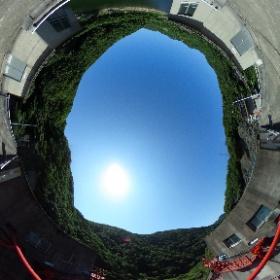 #八戸ダム の天端から #ミクシータ。  #ダム #ダム巡り #miku360 #theta360