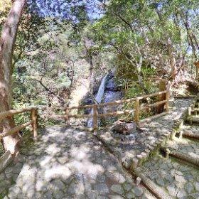 RICOH THETA Z1 2019.04.20 撮影 蜻蛉の滝(奈良県吉野郡川上村西河) HDR + Velbone Cube + QRA-4 #thetaのある生活 #THETAZ1 #theta360