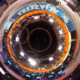 360 degree view of the @AlJazeera English studio in Doha - taken by me! #theta360