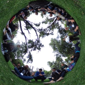 Grupo de apoyo, Insight IV Chile 2018 #theta360