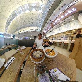 香港空港のクリスタルジェイドで食べおさめシータθ #theta360