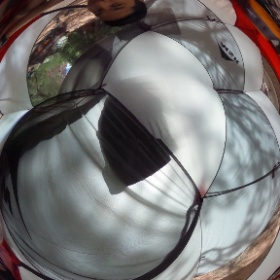 Msr Hubba Hubba. A little over 3 lbs. pretty spacious. #msr #backpacking #theta360