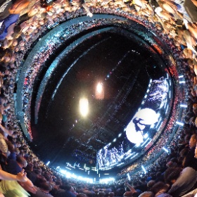 U2 City Of Blinding Lights Amsterdam 07/10 360 shot #U2eiTour