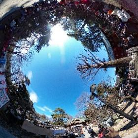 調布市 布多天神社 節分祭3