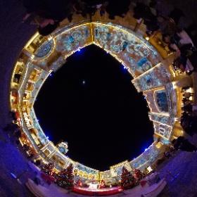ラグナシア ゼフィロス広場 Xmasシーズン #ラグーナテンボス #theta360