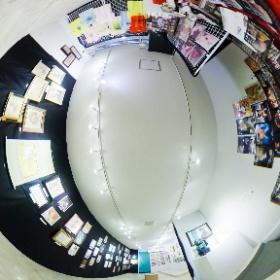 アートスープ(@GalleryArtsoup )さん2階で開催中の「MELANO MUSEUM」の様子です。 #前橋 #作品展 #猫   #theta360