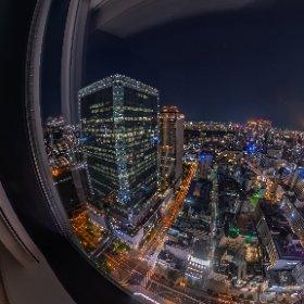 35F Top floor of Hankyu Respire Osaka #thetaz1 #theta360