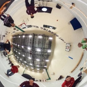Giant Pantograph at Imagineer Community Festival, Middlesbrough College, 17 Oct 2015 #theta360