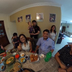 CNY 2017. Year of the Cock! #theta360