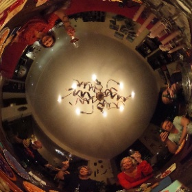 2017 bday table #theta360
