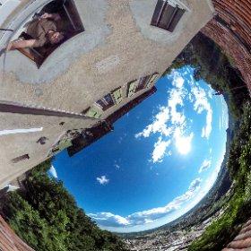 Vista panoramica dall'Eremo di San Nicolao a Mendrisio