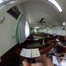 今日迦南教會主日禮拜 主禮  曾燦焜  牧師 題目  趁著白日