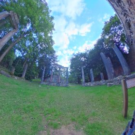 Virginia Waters ruins  Virginia Waters, UK #theta360 #theta360uk