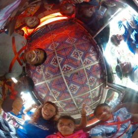 Going to Sihanoukville carnival with the children in Painting Smiles School! #theta360