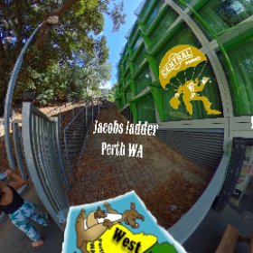 Jacobs Ladder is a challenging outdoor open 242 staircase Perth popular short cut and meeting place for fitness achievers, SM hub https://goo.gl/9CxNhu BEST HASHTAGS  #JacobsLadderWA   #KingsPark  #VisitPerthWA   #PerthAdventure   #WaTourism  #Firefly3d
