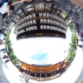 八坂神社! #theta360