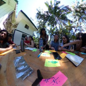 teaching wilderness interaction on our first day of class with Paula te! #theta360
