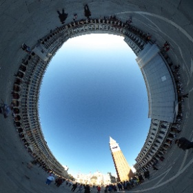 ベネチア・サンマルコ広場は、壮観です。素晴らしい。 #theta360