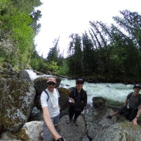 Hiking near Lizzie Creek #BC No mosquitoes yet! #discoverBC #mountainlife #360vr #theta360