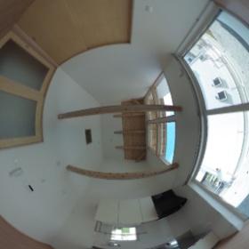 業務連絡  山岸さん THETAで室内を撮影するとこんな感じです。