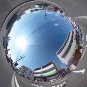 松山市の賃貸、椿第6マンションの敷地南東