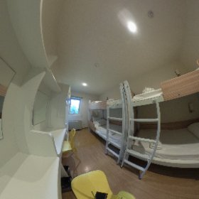 Myecolodge a room for 4 #theta360