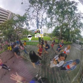 360 spherical muster station Park @ Siam for induction, activities media hub https://goo.gl/4jEc2c BEST HASHTAGS #ParkAtSiam   #TravelMeetLocalsBkkAdventureOctober018 #MusterStationOct2018  #Butterfly3d #theta360