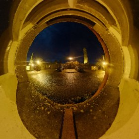 Towers of Killala | December night in north Mayo #theta360