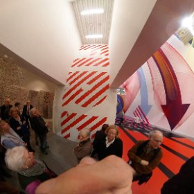 Installation in der Modernen Galerie  #theta360 #theta360de