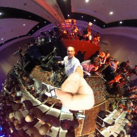 Toyota presser about to get underway at #ces2016  #theta360