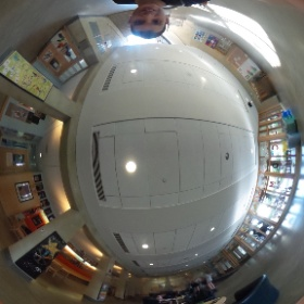 Middle School lobby goes 360! #new360camera