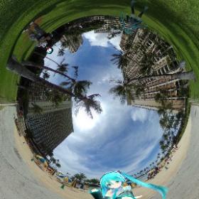 ハワイに行きたい! #miku360 #theta360