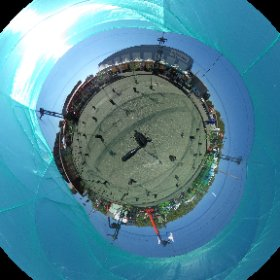 This #lleidadrone Arena in our #drone IX Conferences 360 degree spherical photo  #theta360
