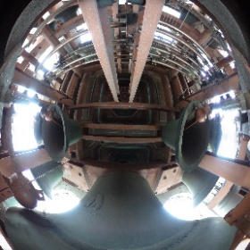 #Campanile with some of the 61 bells #Berkeley #theta360