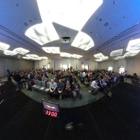 360 degree view of the ATB #TakeOffWithTransformation conference at @FlyYYC.