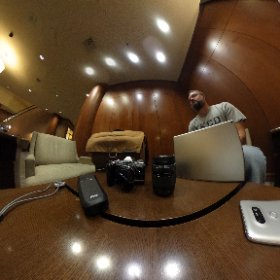 What's in Phil's bag for Google I/O #theta360