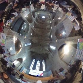 Cocreació i Design Thinking en estat pur a l'#mSchoolsEduHack de Girona. @univgirona @iceudg #theta360