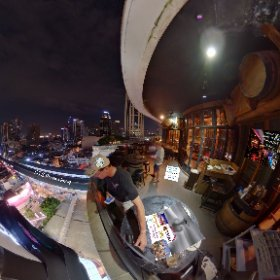 Wine I love you branch at Emquartier Bangkok has wow balcony to go with all their great food and drinks More in  SM hub https://goo.gl/FctvFt BEST HASHTAGS #WineILoveYouEmquartier  #BkkDining  #HelixFoodCourt   #Firefly3d