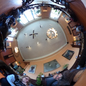 The Elephant House, birth place of Harry Potter -books. #theta360