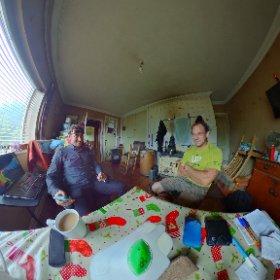 Meeting an old friend at the cottage #firefly3d #connemara #ireland #theta360 #theta360uk