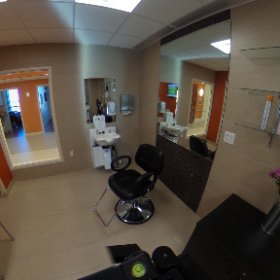 A full look at our 5th floor spa, a room full of relaxation #theta360