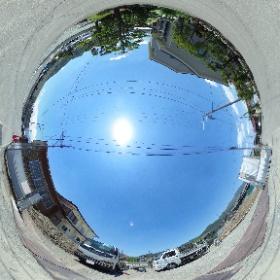 【ジェントルサンライト】山梨県富士吉田市大明見の新築賃貸アパート #theta360