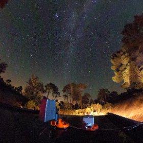 Measuring night sky brightness #theta360
