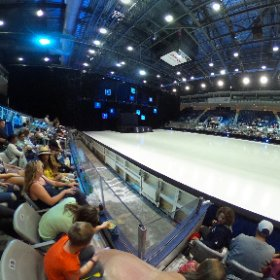 Waiting for the ice show to start. #Toronto #CNE #iceshow #ricohcenter #theta360