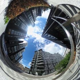 Quartermile, Edinburgh in 360º #theta360