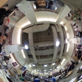 .@hopeconf @adafruit #hopeconf in 360! ...  #theta360