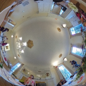 Gallery Photo shoot for @wedguidechicago  #theta360