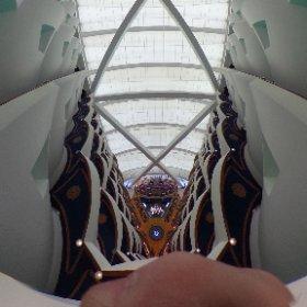 Сферическая панорама внутри Бурдж Аль Араба