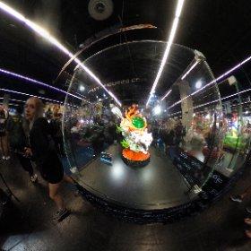 Figurine Okami de First 4 Figures lors de la Gamescom 2019 en 360° #theta360 #theta360fr